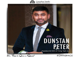 Dunstan Peter- Provided a Generous Donation
